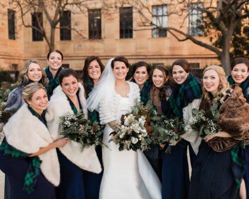 Cozy Bridal Party