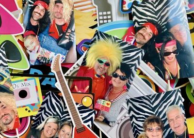 80's Birthday Photo Booth