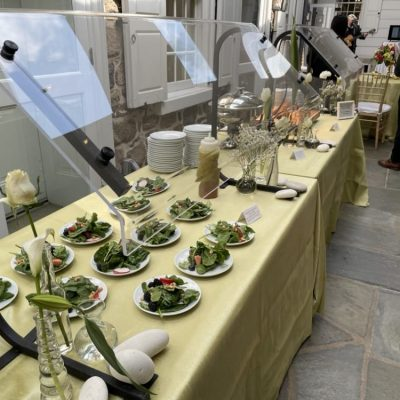 Perfect Setting Catering Salad Station