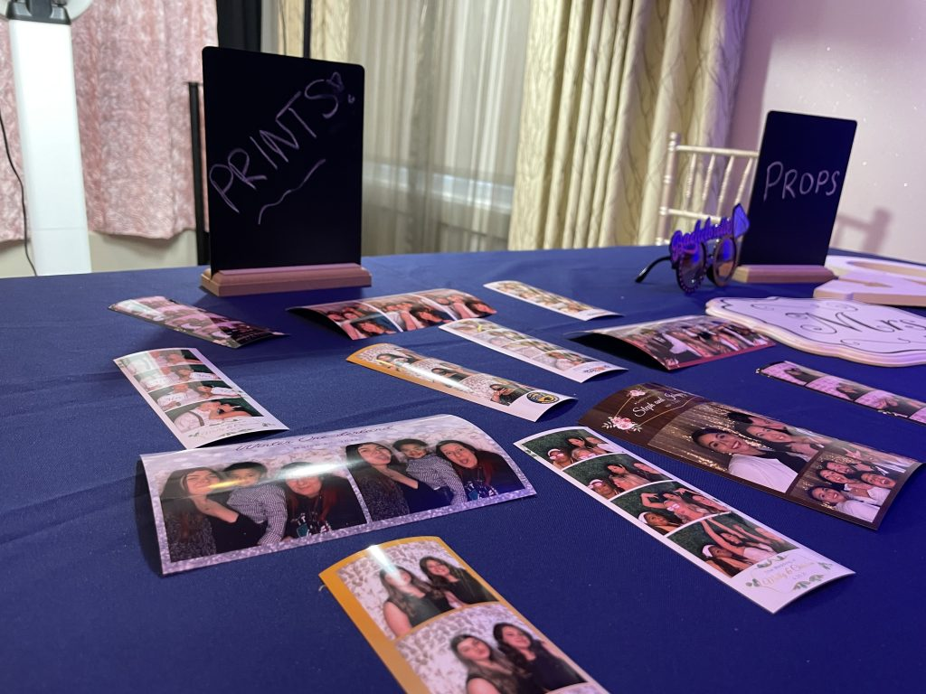 photo booth print out