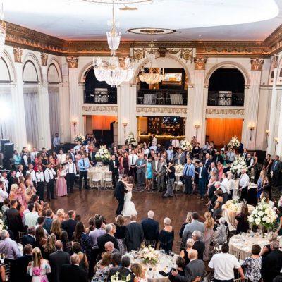 Ballroom at The Ben Reception