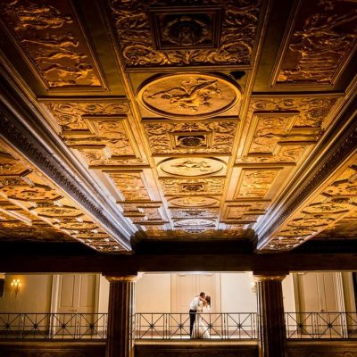 Ballroom at The Ben Ceiling