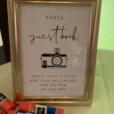 Philly Wedding Guest Book