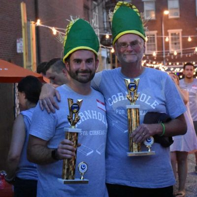 Cornhole Winners