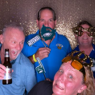 Eagles Props Photo Booth