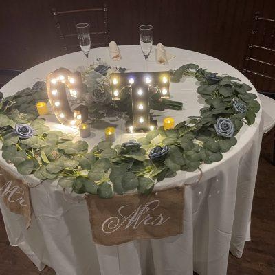 Connor and Tori Restaurant Wedding Venue